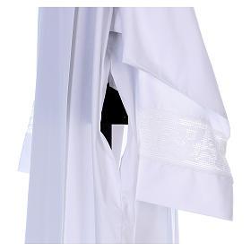 Camice misto cotone merletto croce calice s3