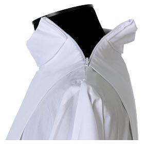 Alba algodón mixto encaje fondo y mangas s7