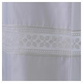 Camice misto cotone merletto fondo e maniche s2