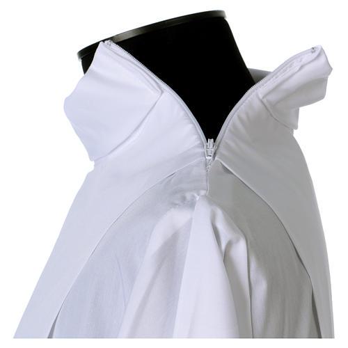 Camice misto cotone merletto fondo e maniche 7