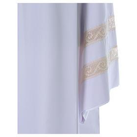 Camice tela Vaticana doppio tramezzo croce ricamata s2