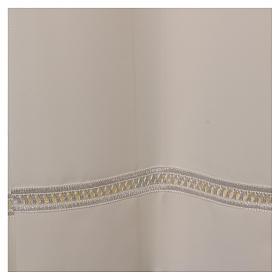 Camice 100% poliestere avorio gigliuccio cerniera spalla s2