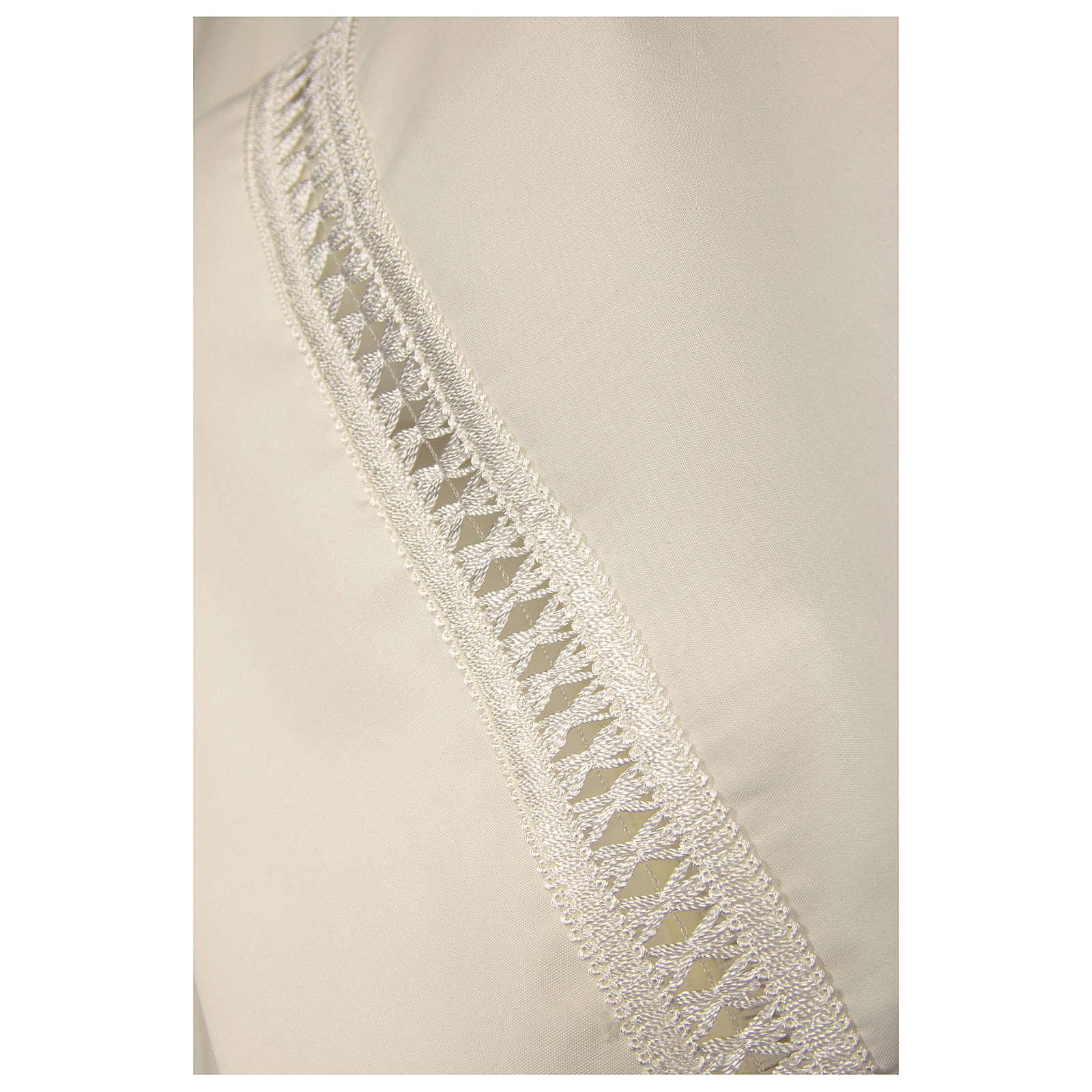 Camice avorio 55% pol. 45% lana gigliuccio cerniera davanti 4