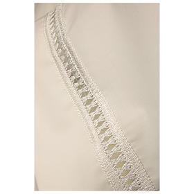 Camice avorio 55% pol. 45% lana gigliuccio cerniera davanti s3