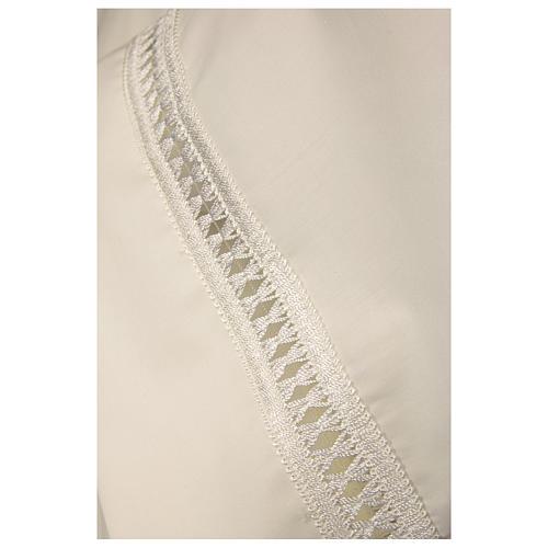 Camice avorio 55% pol. 45% lana gigliuccio cerniera davanti 3