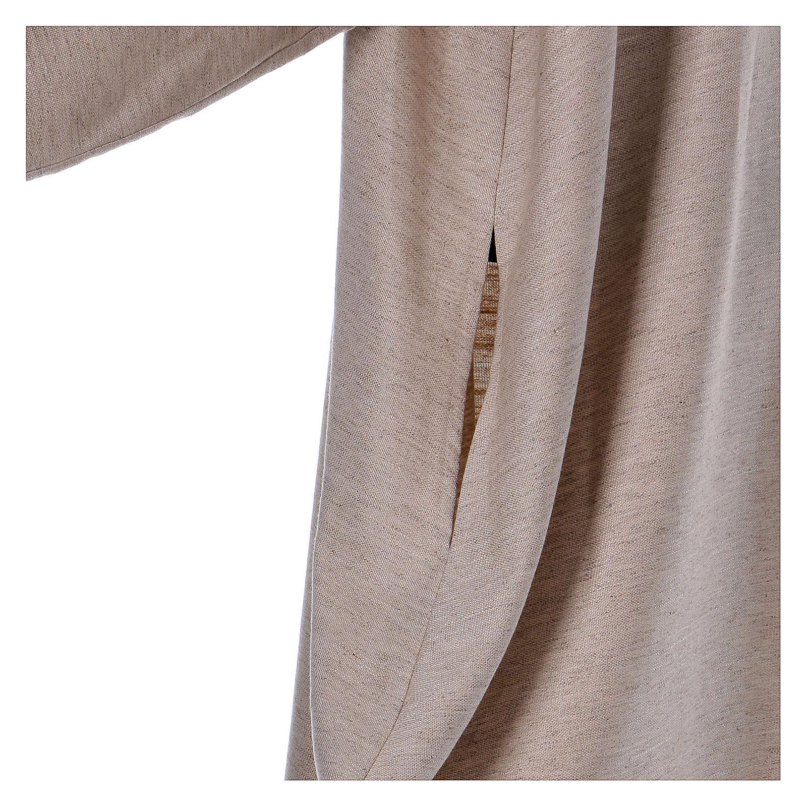 Camice avorio viscosa colletto cocolle svasato 4