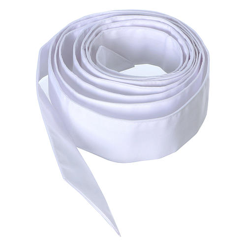 Cincture for priest, white 1