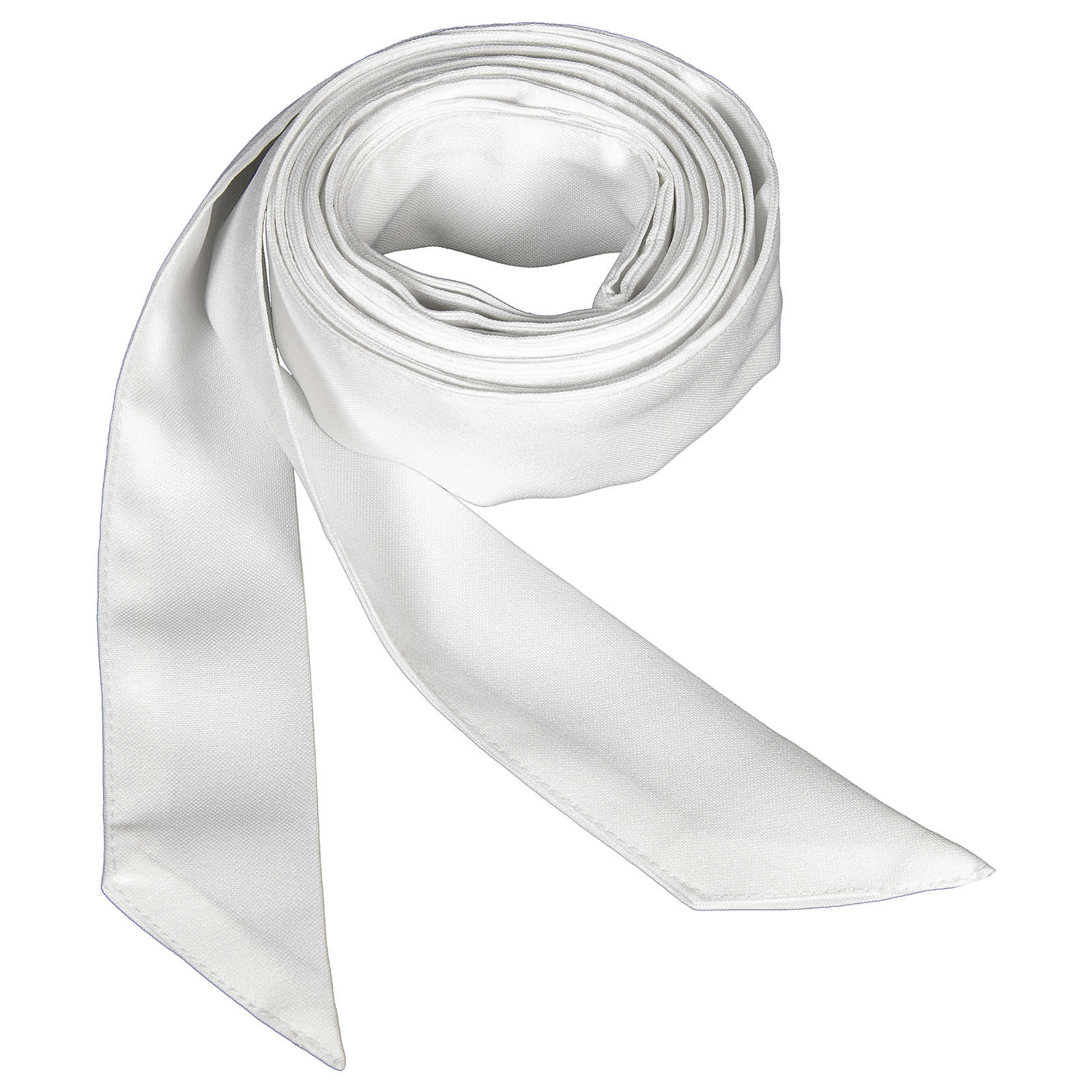 Cingolo sacerdotale colore bianco 4