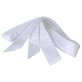 Cingulum kapłańskie kolor biały s2