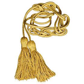 Cingolo sacerdotale oro rayon s1