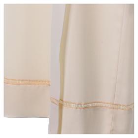 Camice avorio 55% lana 45% poliestere cerniera davanti gigliuccio s2