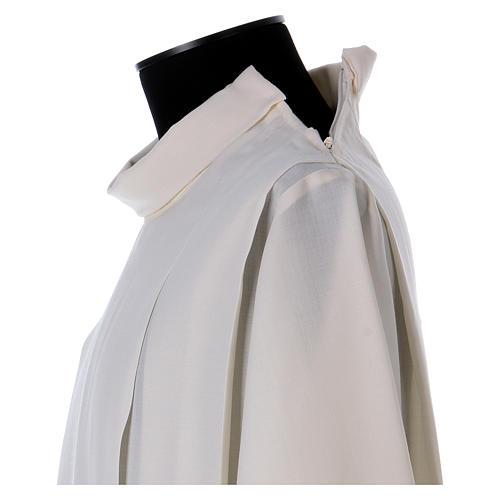 Camice cotta avorio 55% lana 45% poliestere cerniera spalla 5