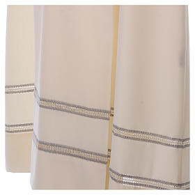 Camice avorio 55% lana 45% poliestere cerniera davanti gigliuccio s3