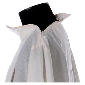 Camice avorio 55% poliestere 45% lana cerniera spalla s4