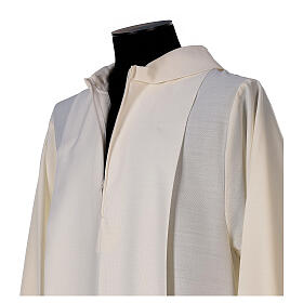 Aube ivoire décoration dorée 55% laine 45% polyester s4