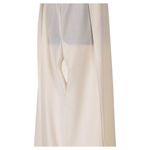 Priest alb 55% polyester 45% wool striped gold red 7