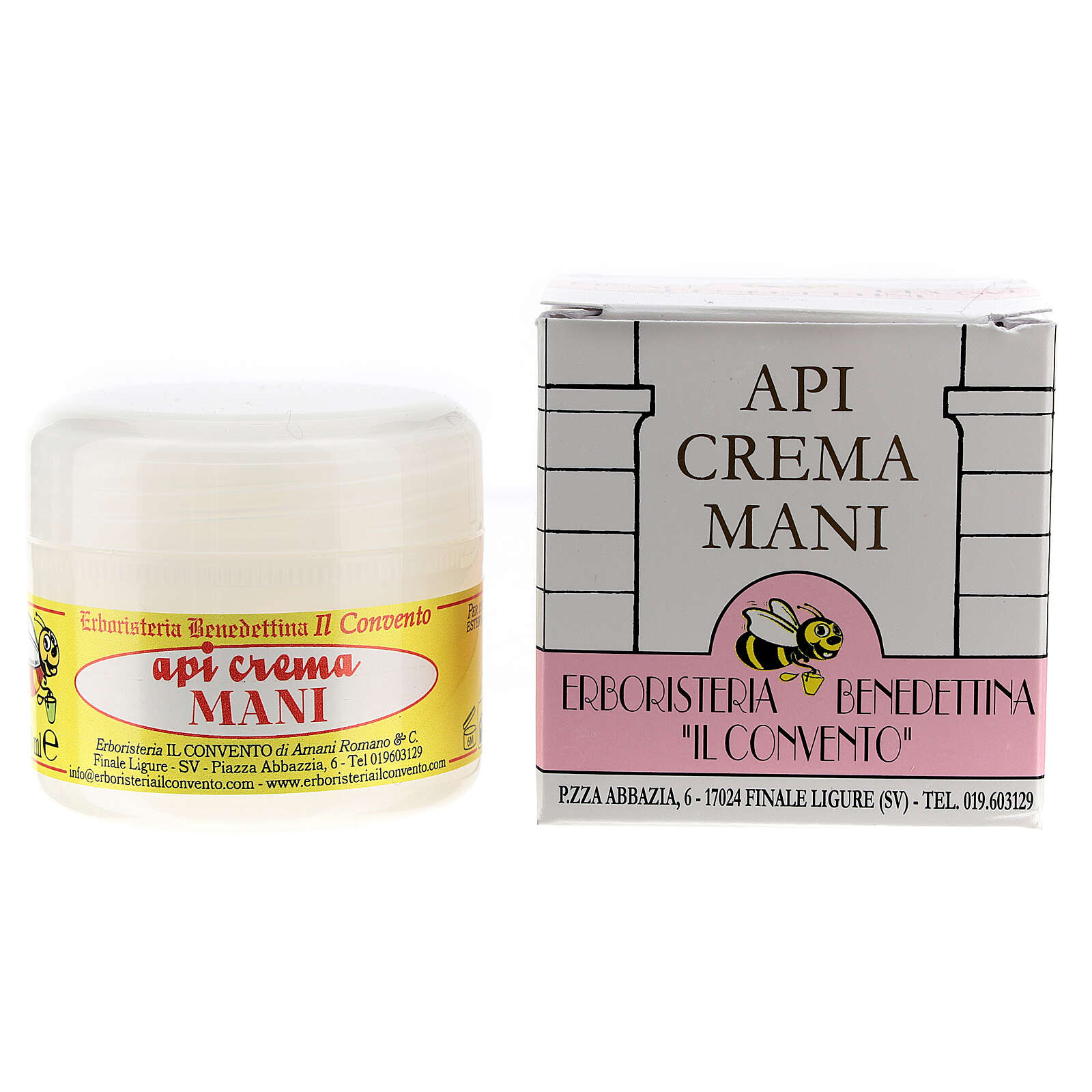 Hand-cream with honey and pollen oil 4