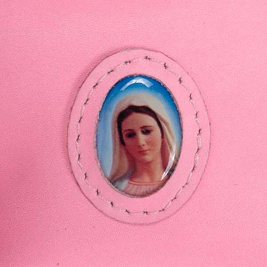 Rosary case with snap fastener, Medjugorje 4