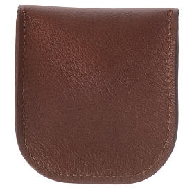 Étui dizainier cuir brun Moines de Bethléem s2