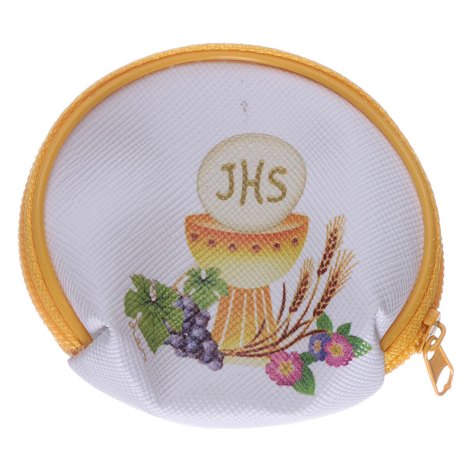 Purse rosary holder 7x6 cm with Chalice image 4