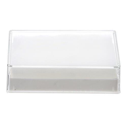 Caja para rosario rectangular con guata para granos 6-7 mm 1