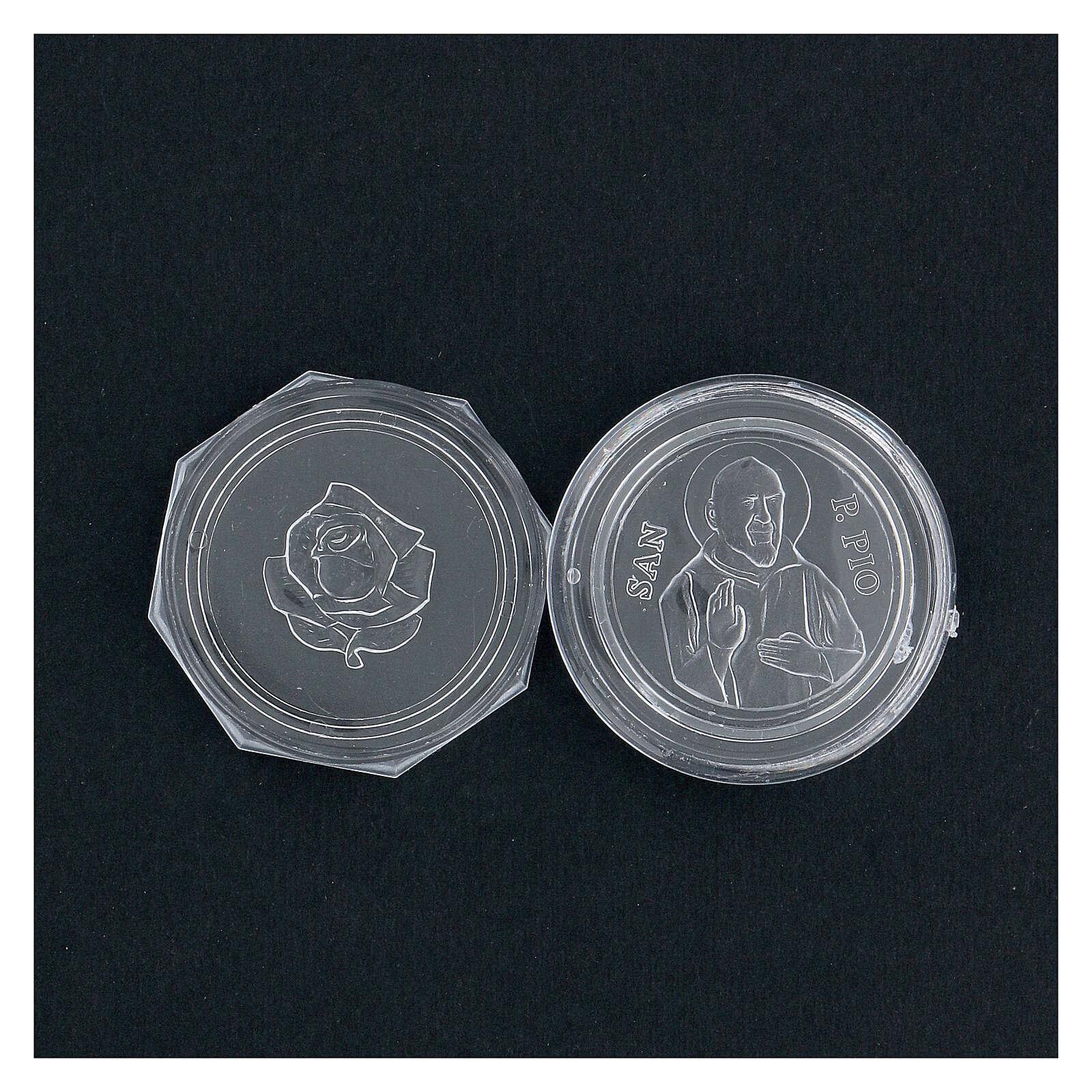 Caja para rosario Padre Pío 4