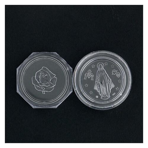 Caja para rosario octagonal Milagrosa 4