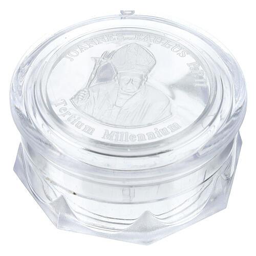Boîte pour chapelet Pape Jean-Paul II 1