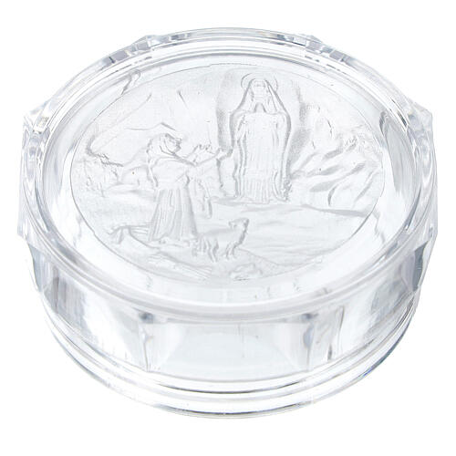 Our Lady of Lourdes rosary box 1