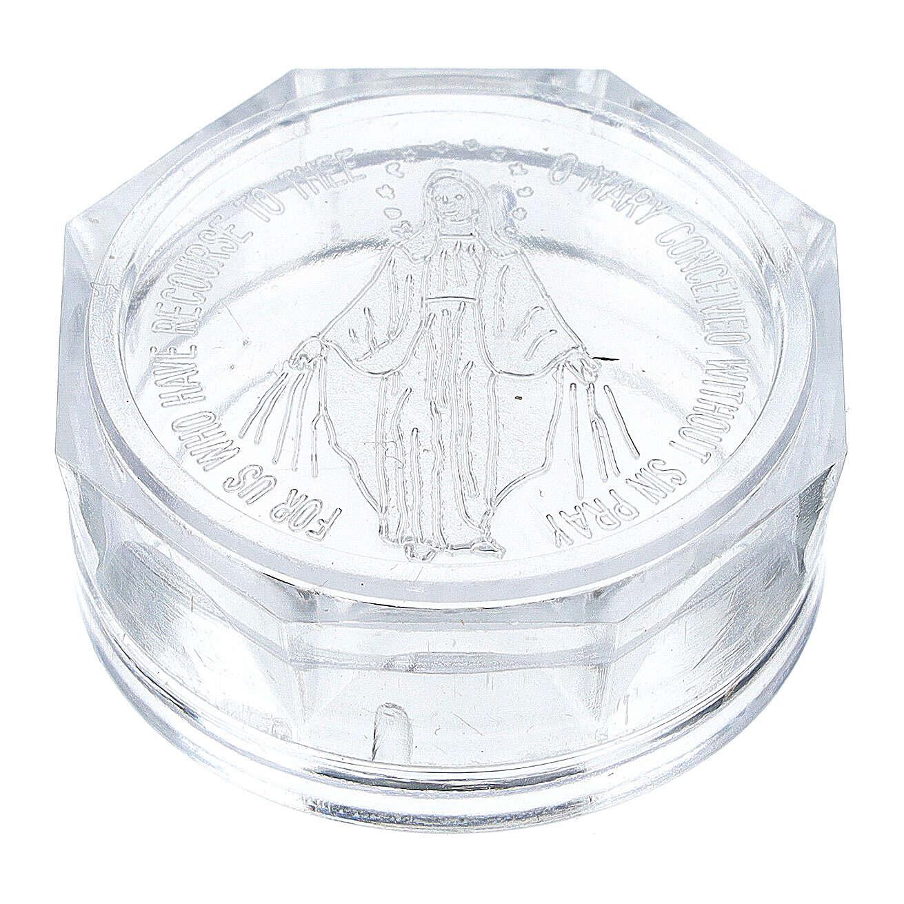 Caja para rosario Virgen Milagrosa 4
