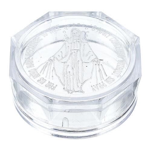 Caja para rosario Virgen Milagrosa 1