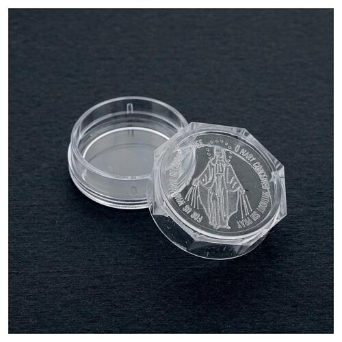 Caja para rosario Virgen Milagrosa 3