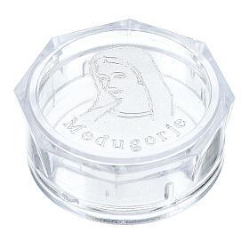 Caja para rosario Virgen Medjugorje octagonal s1