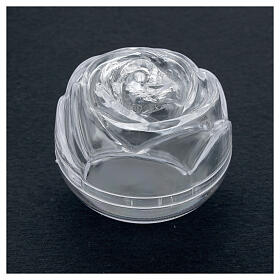 Rose-shaped rosary box 5.5 s2