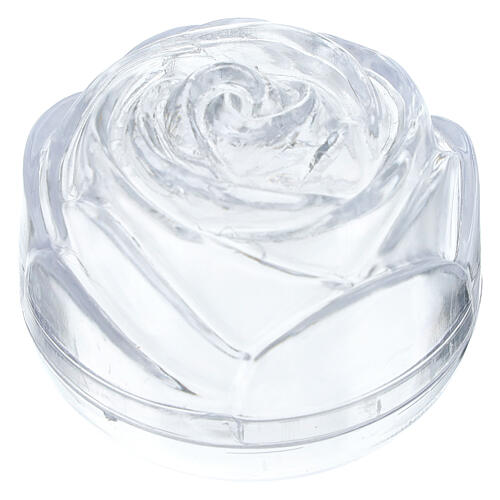 Rose-shaped rosary box 5.5 1