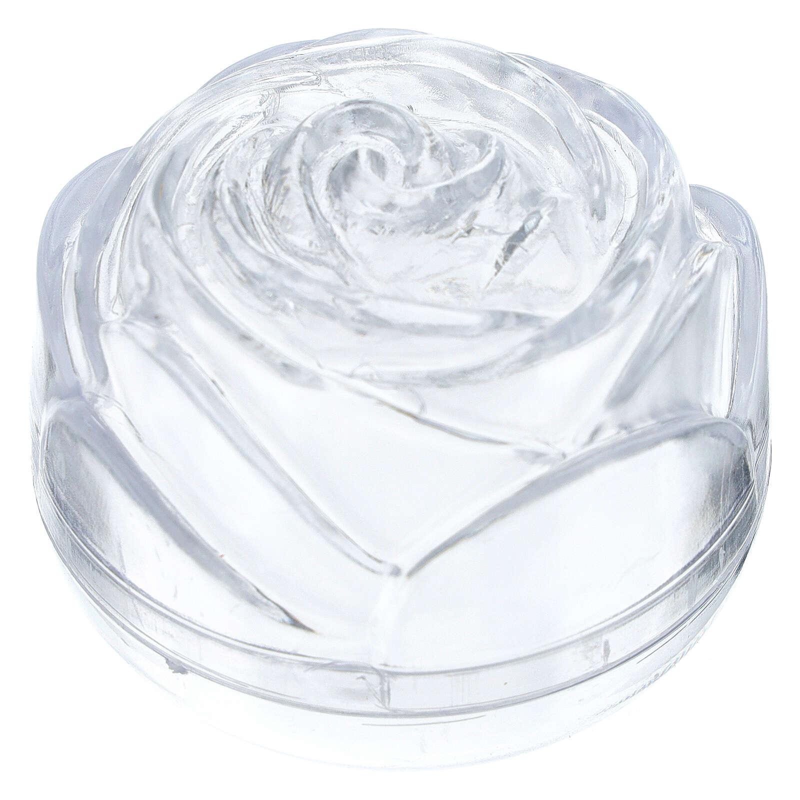 Boîte à chapelet grande rose 4