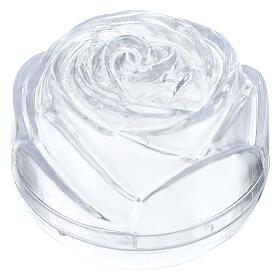 Boîte à chapelet grande rose s1