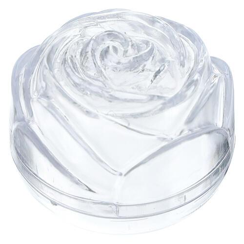 Boîte à chapelet grande rose 1