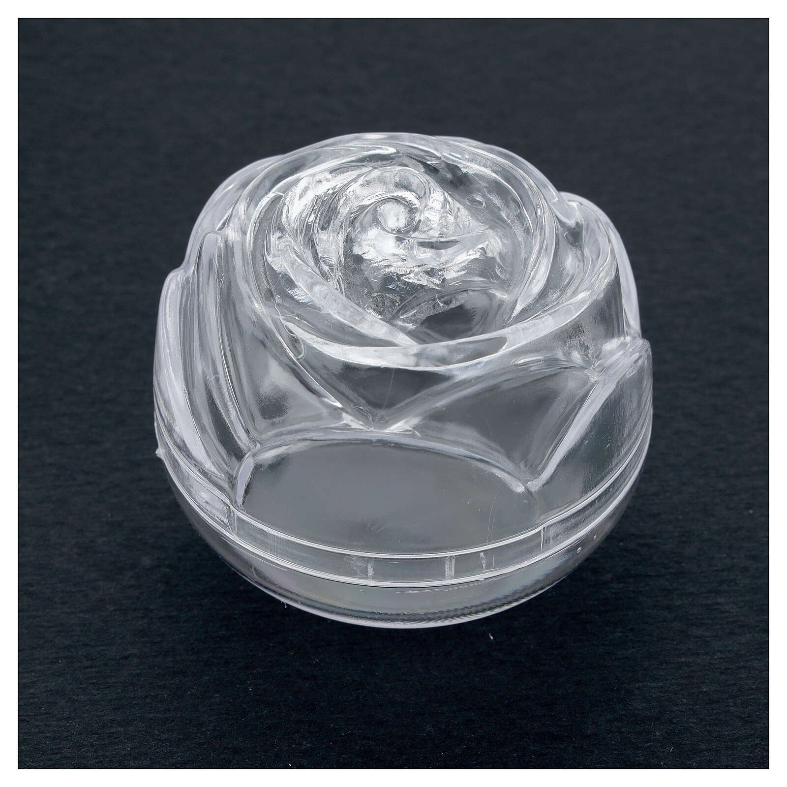 Portarosario rosa 5.5 cm 4