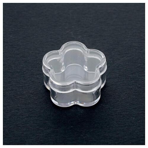 Boîte pour chapelet fleur grains 3-4 mm 2