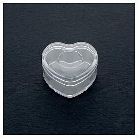 Coeur porte-chapelet grains 3-4 mm s2