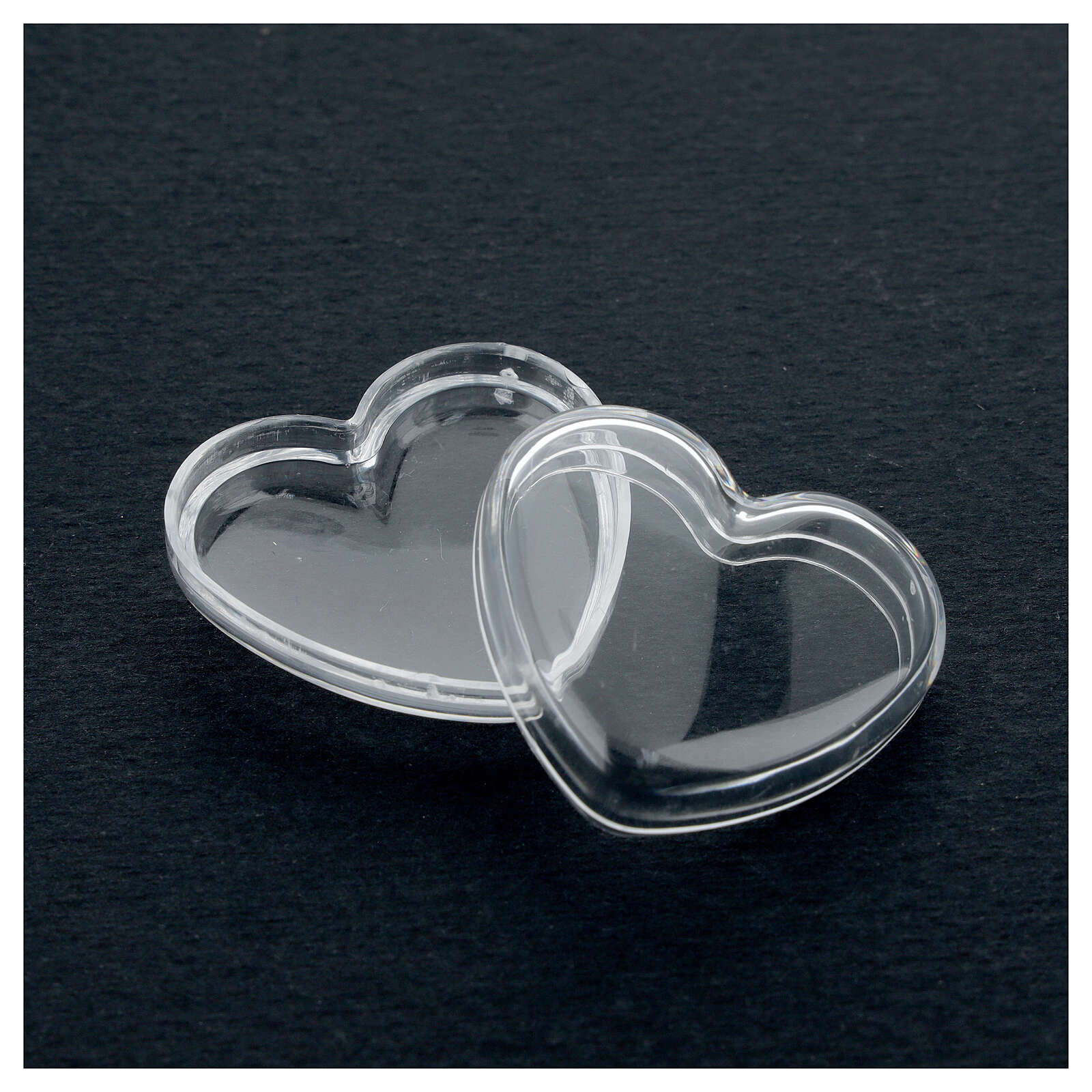 Rosary holder heart box 3-4 mm beads 4