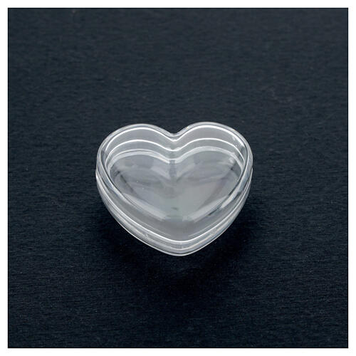 Rosary holder heart box 3-4 mm beads 2