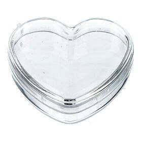 Boîte coeur pour chapelet grains 3-4 mm s1