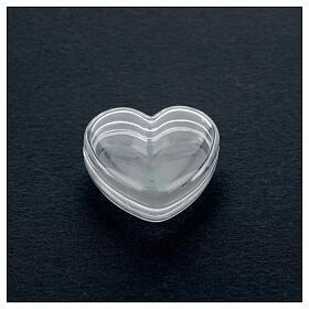 Boîte coeur pour chapelet grains 3-4 mm s2