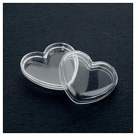 Boîte coeur pour chapelet grains 3-4 mm s3