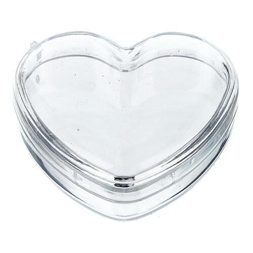 Boîte coeur pour chapelet grains 3-4 mm 1