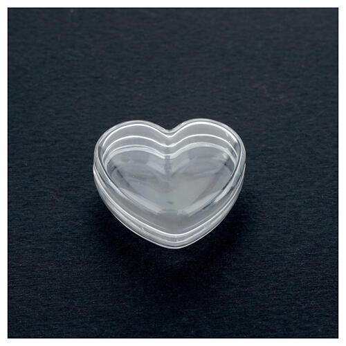 Boîte coeur pour chapelet grains 3-4 mm 2