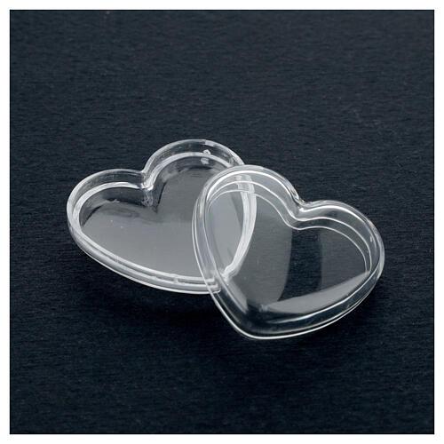 Boîte coeur pour chapelet grains 3-4 mm 3