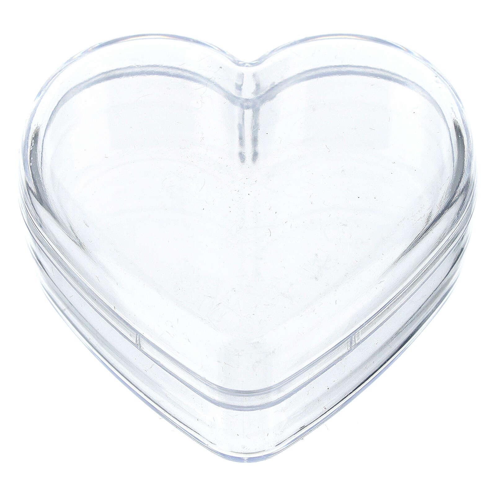 Heart rosary holder box 4